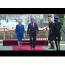 Prime Minister Viorica Dăncilă welcomes the Prime Minister of the Republic of North Macedonia Zoran Zaev